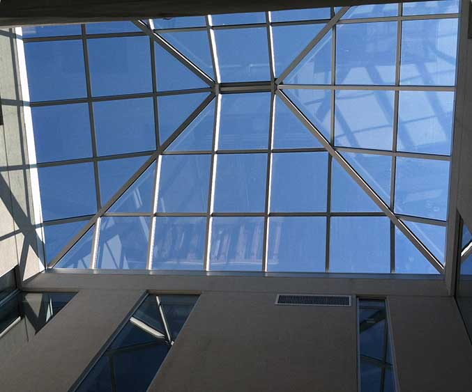 Aluminum Skylights & Domes